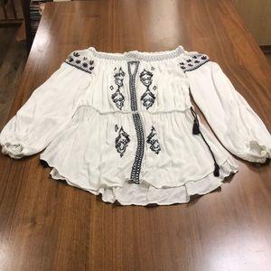 River Island boho blouse
